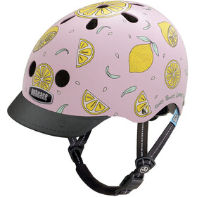 Nutcase Little Nutty Street Fietshelm Kinderen, pink lemonade